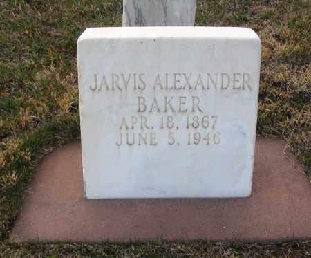 BAKER, JARVIS ALEXANDER - Cache County, Utah | JARVIS ALEXANDER BAKER - Utah Gravestone Photos