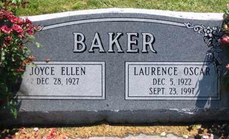 BAKER, JOYCE ELLEN - Cache County, Utah | JOYCE ELLEN BAKER - Utah Gravestone Photos