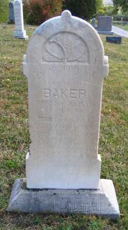 BAKER, LUCY AMELIA - Cache County, Utah | LUCY AMELIA BAKER - Utah Gravestone Photos