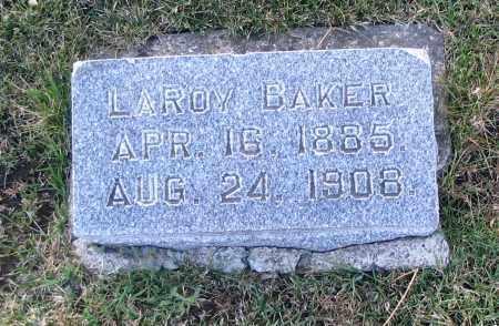 BAKER, LAROY - Cache County, Utah | LAROY BAKER - Utah Gravestone Photos