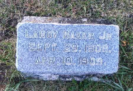 BAKER, LAROY, JR. - Cache County, Utah | LAROY, JR. BAKER - Utah Gravestone Photos