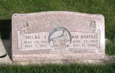 BAKER, WILLIAM HAROLD - Cache County, Utah | WILLIAM HAROLD BAKER - Utah Gravestone Photos