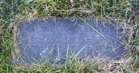 BAKER, MORGAN - Cache County, Utah | MORGAN BAKER - Utah Gravestone Photos