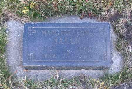 BAKER, MARGARET EDNA - Cache County, Utah | MARGARET EDNA BAKER - Utah Gravestone Photos