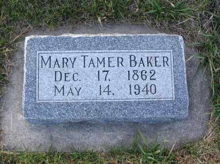 BAKER, MARY - Cache County, Utah | MARY BAKER - Utah Gravestone Photos