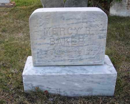 BAKER, MERCY R. - Cache County, Utah   MERCY R. BAKER - Utah Gravestone Photos