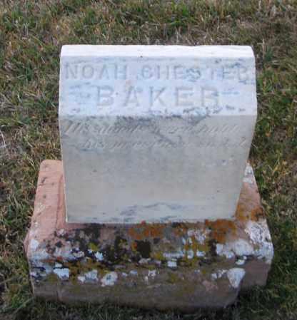 BAKER, NOAH CHESTER - Cache County, Utah | NOAH CHESTER BAKER - Utah Gravestone Photos