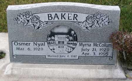 BAKER, MYRNA - Cache County, Utah | MYRNA BAKER - Utah Gravestone Photos