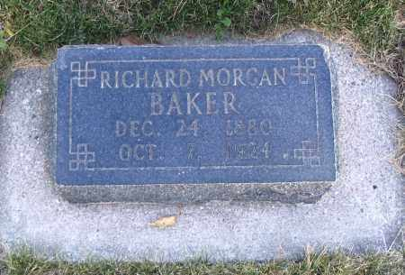 BAKER, RICHARD MORGAN - Cache County, Utah | RICHARD MORGAN BAKER - Utah Gravestone Photos