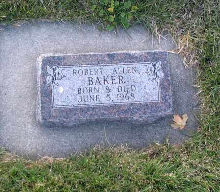 BAKER, ROBERT ALLEN - Cache County, Utah   ROBERT ALLEN BAKER - Utah Gravestone Photos