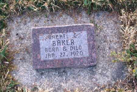 BAKER, RACHEL C. - Cache County, Utah | RACHEL C. BAKER - Utah Gravestone Photos