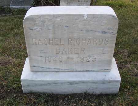 BAKER, RACHEL - Cache County, Utah | RACHEL BAKER - Utah Gravestone Photos