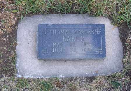 BAKER, THOMAS MORGAN - Cache County, Utah | THOMAS MORGAN BAKER - Utah Gravestone Photos