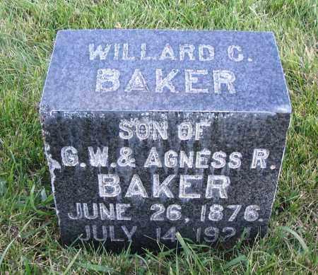 BAKER, WILLARD C. - Cache County, Utah | WILLARD C. BAKER - Utah Gravestone Photos