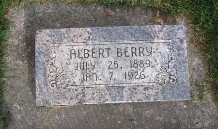 BERRY, ALBERT - Cache County, Utah   ALBERT BERRY - Utah Gravestone Photos