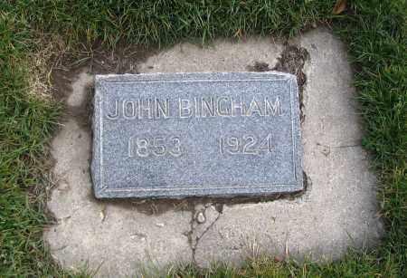 BINGHAM, JOHN - Cache County, Utah   JOHN BINGHAM - Utah Gravestone Photos