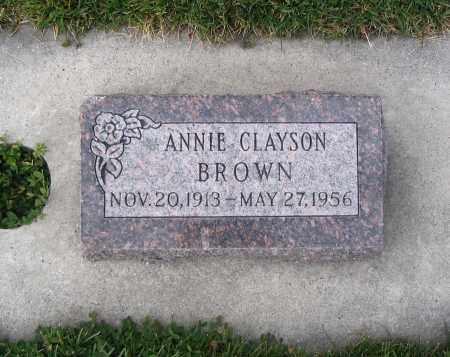 BROWN, ANNIE - Cache County, Utah | ANNIE BROWN - Utah Gravestone Photos