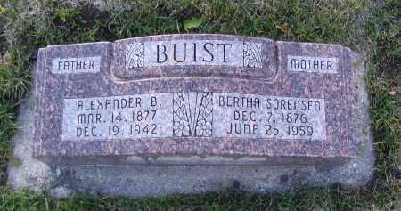 SORENSEN, BERTHA - Cache County, Utah   BERTHA SORENSEN - Utah Gravestone Photos