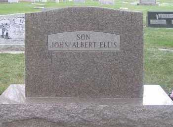 ELLIS, JOHN ALBERT - Cache County, Utah | JOHN ALBERT ELLIS - Utah Gravestone Photos