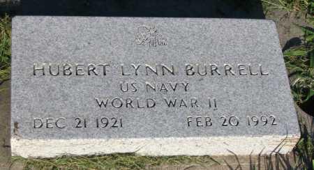 BURRELL, HUBERT LYNN - Cache County, Utah | HUBERT LYNN BURRELL - Utah Gravestone Photos