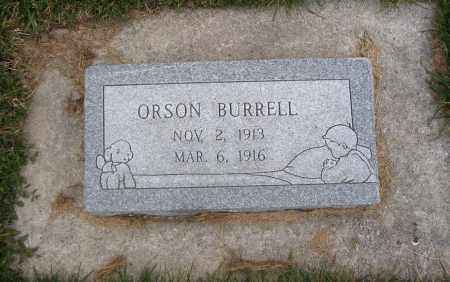 BURRELL, ORSON - Cache County, Utah | ORSON BURRELL - Utah Gravestone Photos