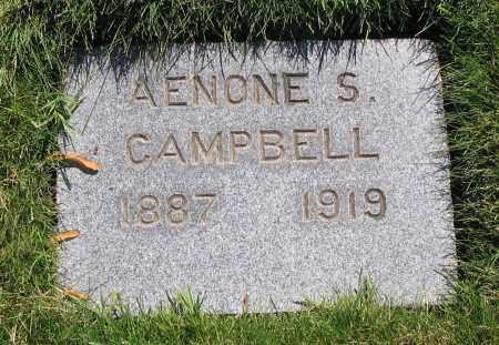CAMPBELL, AENONE - Cache County, Utah   AENONE CAMPBELL - Utah Gravestone Photos