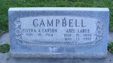 CAMPBELL, ELVERA A. - Cache County, Utah | ELVERA A. CAMPBELL - Utah Gravestone Photos