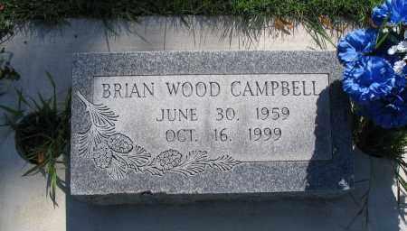 CAMPBELL, BRIAN WOOD - Cache County, Utah | BRIAN WOOD CAMPBELL - Utah Gravestone Photos