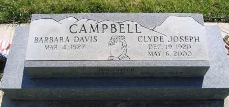 CAMPBELL, CLYDE JOSEPH - Cache County, Utah | CLYDE JOSEPH CAMPBELL - Utah Gravestone Photos