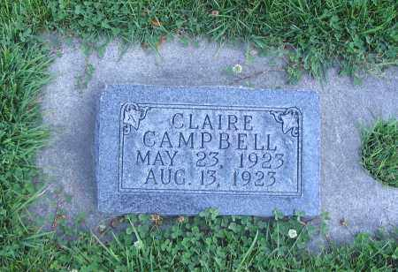 CAMPBELL, CLAIRE - Cache County, Utah | CLAIRE CAMPBELL - Utah Gravestone Photos