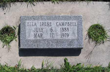 CAMPBELL, ELLA IRENE - Cache County, Utah   ELLA IRENE CAMPBELL - Utah Gravestone Photos