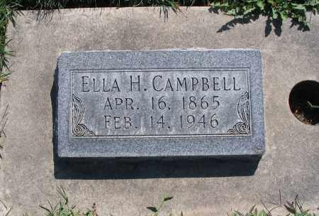 CAMPBELL, ELLA - Cache County, Utah | ELLA CAMPBELL - Utah Gravestone Photos