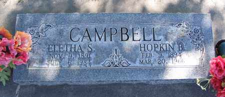 CAMPBELL, HOPKIN BENONI - Cache County, Utah   HOPKIN BENONI CAMPBELL - Utah Gravestone Photos