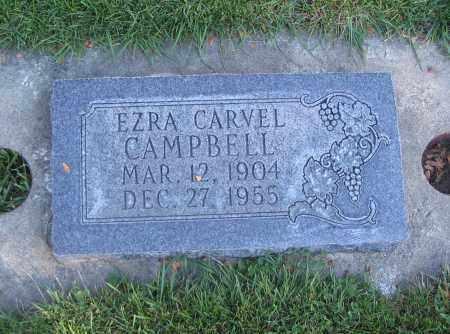 CAMPBELL, EZRA CARVEL - Cache County, Utah | EZRA CARVEL CAMPBELL - Utah Gravestone Photos