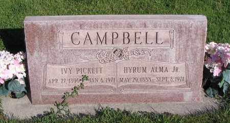 CAMPBELL, IVY - Cache County, Utah | IVY CAMPBELL - Utah Gravestone Photos