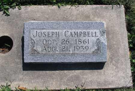 CAMPBELL, JOSEPH - Cache County, Utah | JOSEPH CAMPBELL - Utah Gravestone Photos