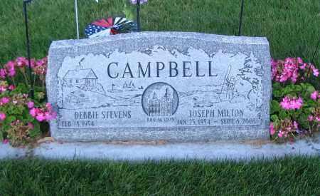 CAMPBELL, JOSEPH MILTON - Cache County, Utah | JOSEPH MILTON CAMPBELL - Utah Gravestone Photos
