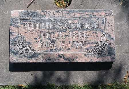 CAMPBELL, KENNETH RONALD - Cache County, Utah   KENNETH RONALD CAMPBELL - Utah Gravestone Photos
