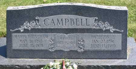 CAMPBELL, HAZELTON J. - Cache County, Utah | HAZELTON J. CAMPBELL - Utah Gravestone Photos