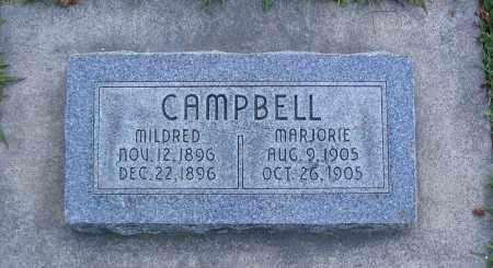 CAMPBELL, MARJORIE - Cache County, Utah | MARJORIE CAMPBELL - Utah Gravestone Photos