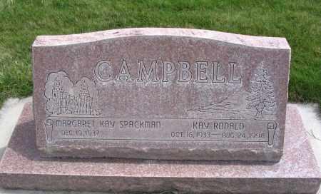 CAMPBELL, MARGARET KAY - Cache County, Utah | MARGARET KAY CAMPBELL - Utah Gravestone Photos