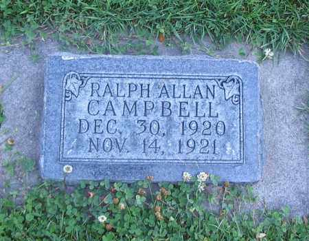 CAMPBELL, RALPH ALLAN - Cache County, Utah   RALPH ALLAN CAMPBELL - Utah Gravestone Photos