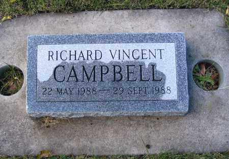 CAMPBELL, RICHARD VINCENT - Cache County, Utah   RICHARD VINCENT CAMPBELL - Utah Gravestone Photos