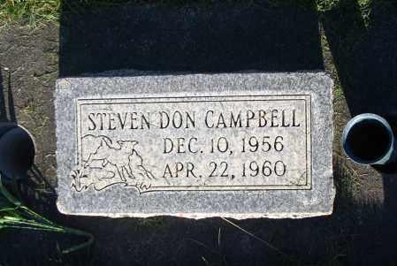 CAMPBELL, STEVEN DON - Cache County, Utah   STEVEN DON CAMPBELL - Utah Gravestone Photos