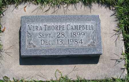 CAMPBELL, VERA - Cache County, Utah   VERA CAMPBELL - Utah Gravestone Photos