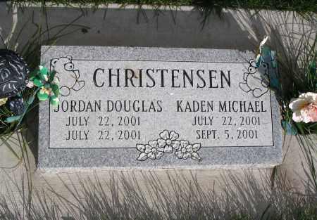 CHRISTENSEN, JORDAN DOUGLAS - Cache County, Utah | JORDAN DOUGLAS CHRISTENSEN - Utah Gravestone Photos