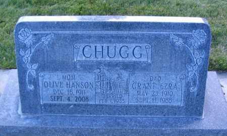 HANSON, OLIVE - Cache County, Utah   OLIVE HANSON - Utah Gravestone Photos