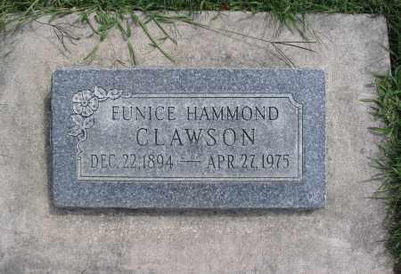 CLAWSON, EUNICE - Cache County, Utah | EUNICE CLAWSON - Utah Gravestone Photos