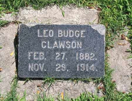 CLAWSON, LEO BUDGE - Cache County, Utah   LEO BUDGE CLAWSON - Utah Gravestone Photos