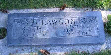 CLAWSON, ROSETTA T. - Cache County, Utah | ROSETTA T. CLAWSON - Utah Gravestone Photos